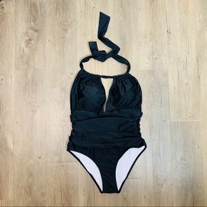 Cupshe one piece black swimsuit